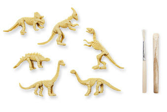 kit excavación paleontologos dinosaurios