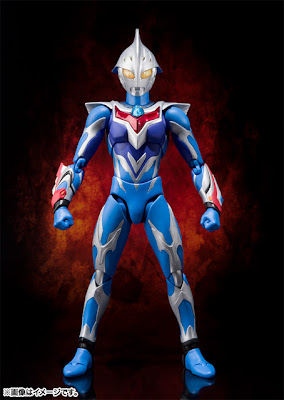Bandai Ultra-Act Ultraman Nexus - Junis Blue Form figure