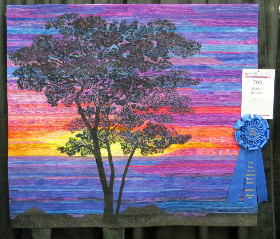 Cathy Geier's Quilty Art Blog: My 1st Place Ribbon at the AQS Show ... : aqs quilt show - Adamdwight.com