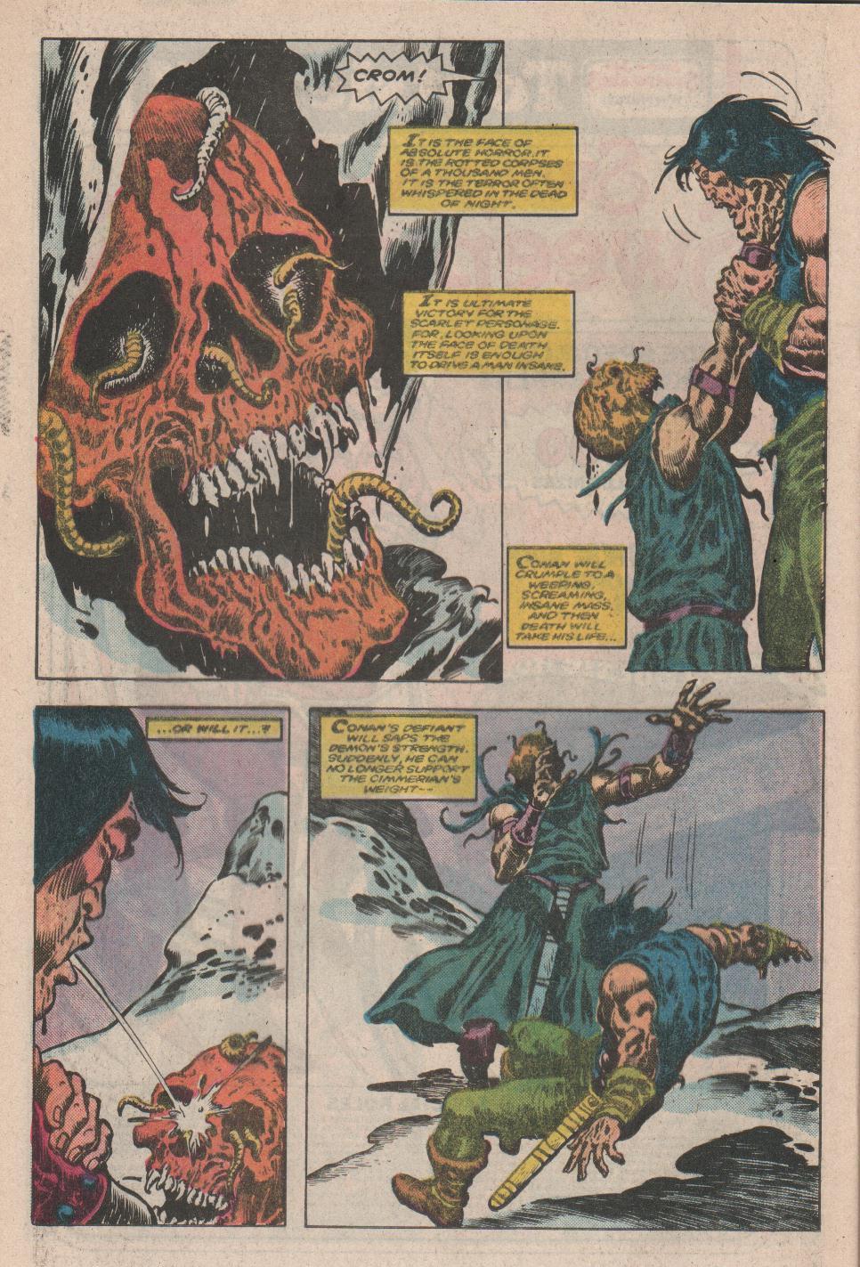 Conan the Barbarian (1970) Issue #175 #187 - English 18
