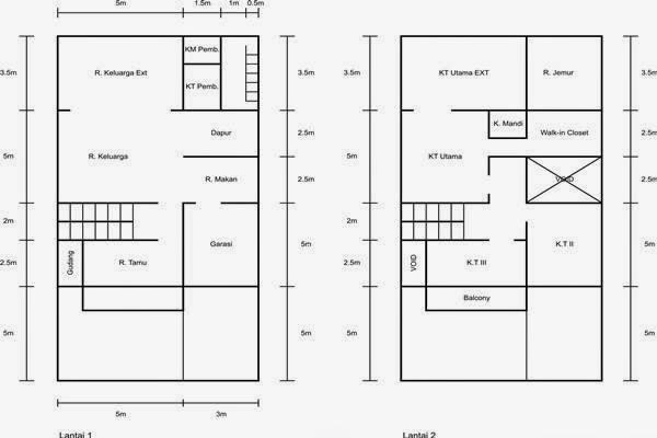 rab rumah sederhana gaya rumah new style for 2016 2017
