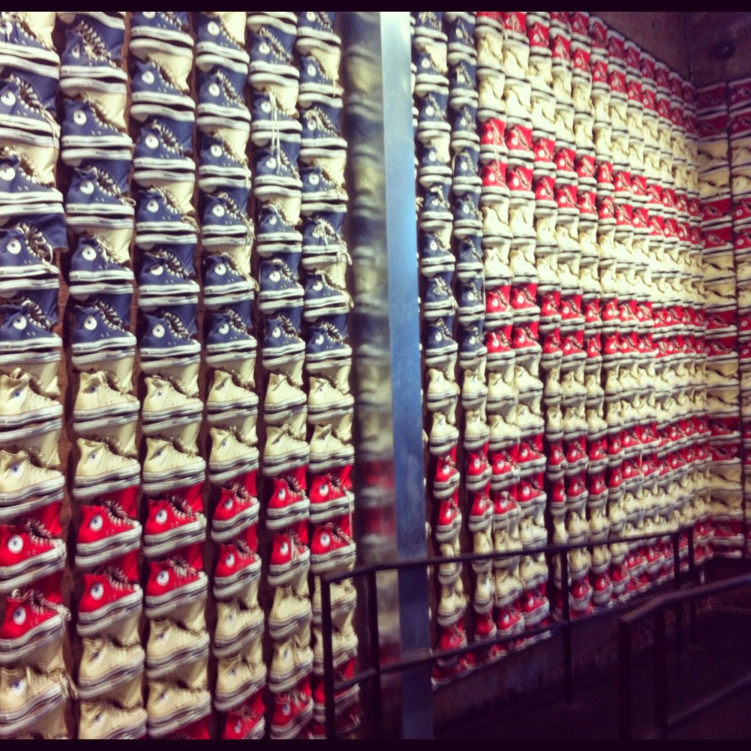 Converse Shoes Soho New York