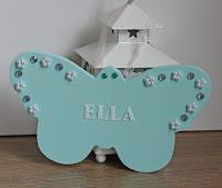 Small Wooden Name Plaques: Birthday, New Baby, Christening Gifts