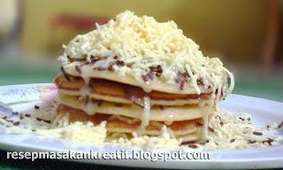 Resep Membuat Pancake Keju Praktis