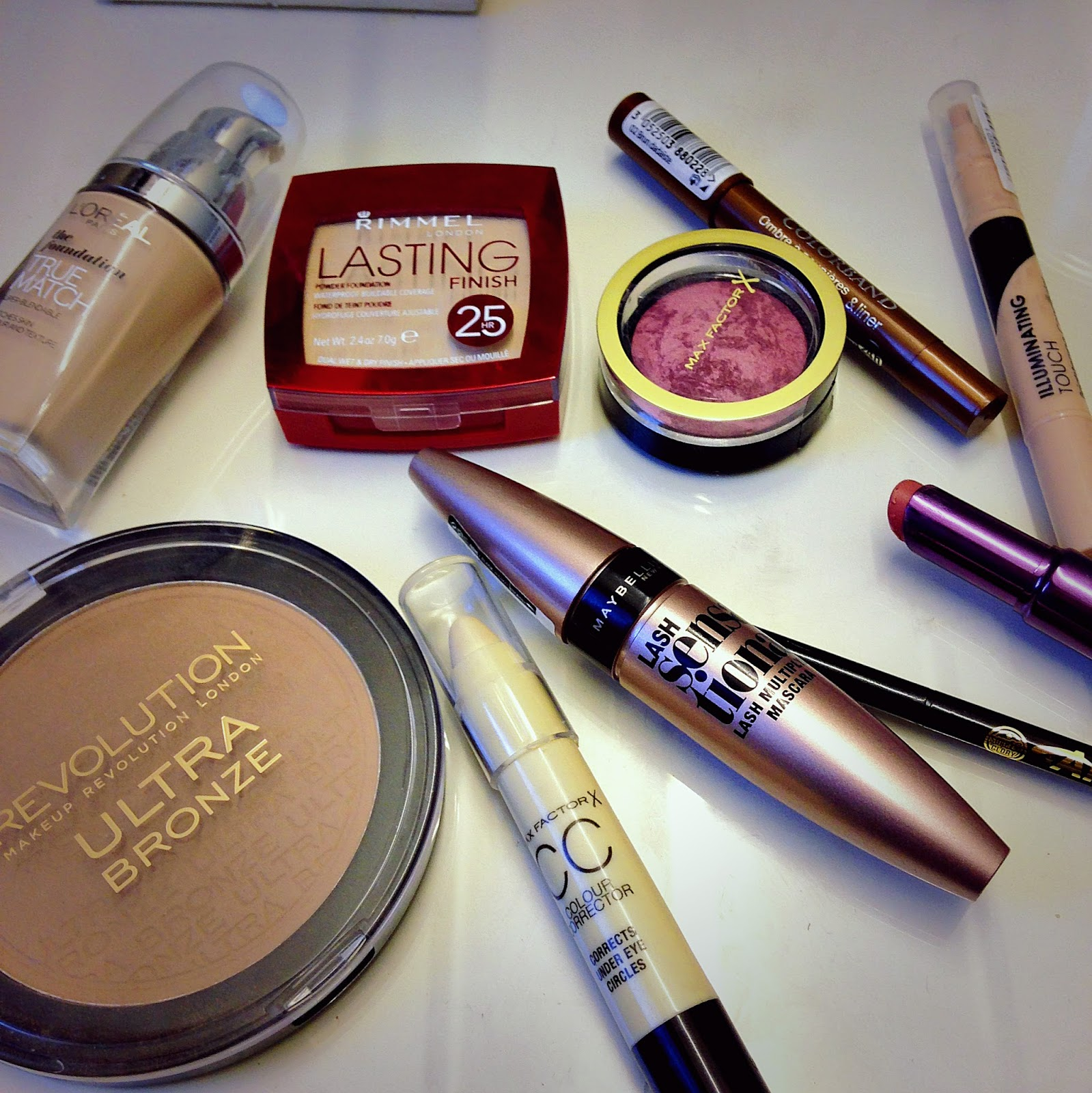 quick morning make up using drugstore products brightowngirl