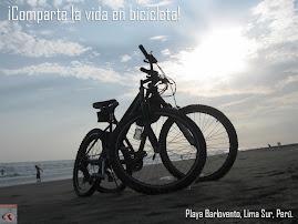 Comparte la vida en bicicleta