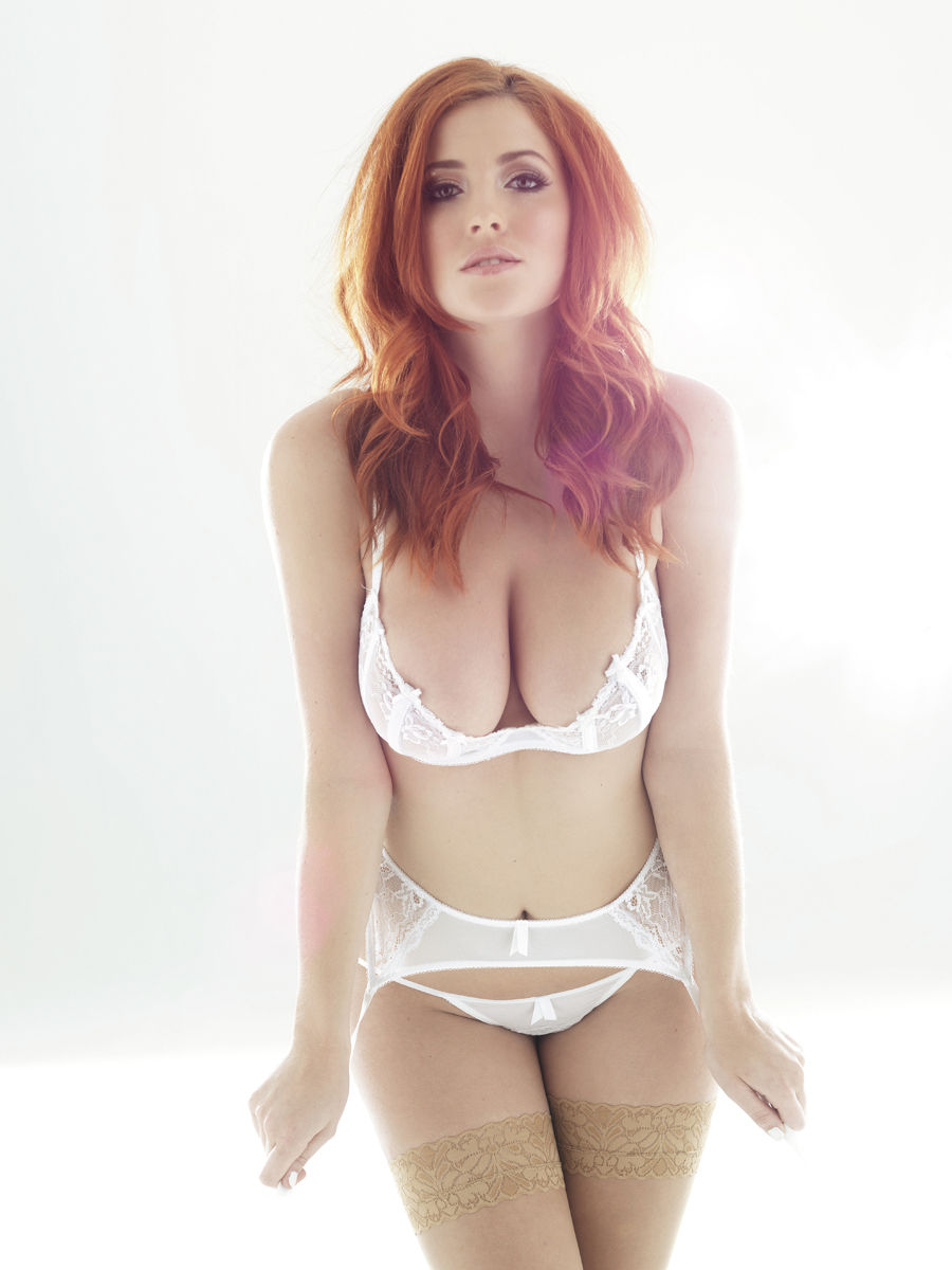 Redhead Haven Sexy Picture Of Big Busted Lucy Collet In