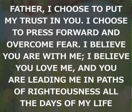 My Trust in You