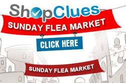 Shopclues Sunday Flea Market : 100% Cashback On Purchasing Products