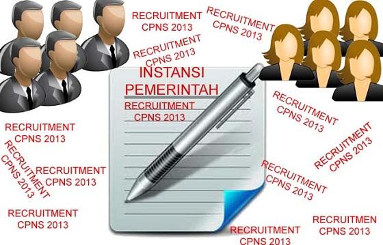Instansi Pemerintah Pusat dan Daerah Yang Membuka Lowongan Penerimaan CPNS 2013