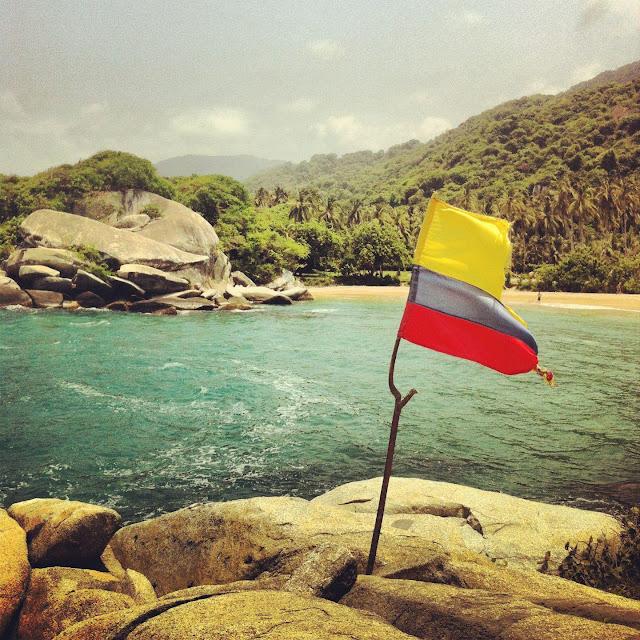 Tayrona Colombia Colombia de una Toya Viudes