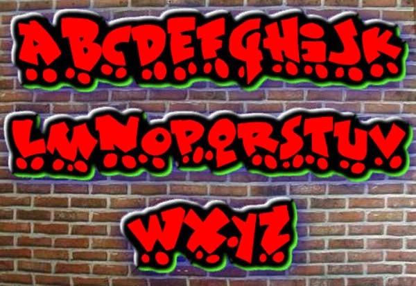 Graffiti Creator Styles: Graffiti Font Generator