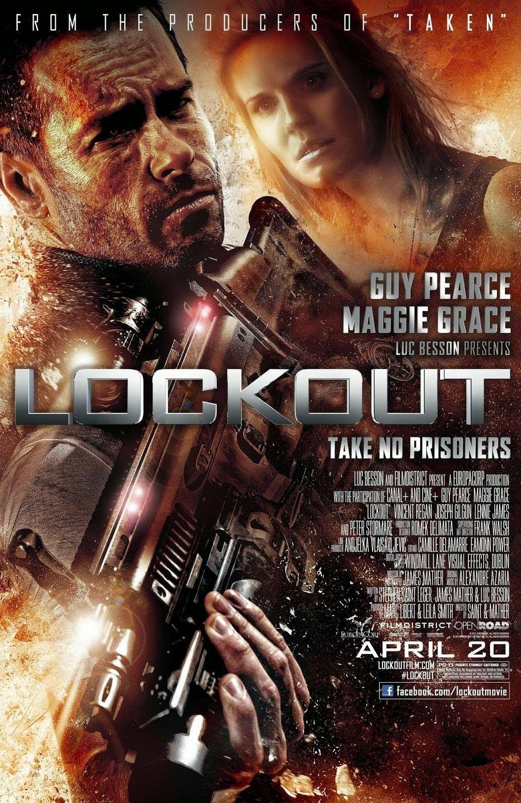 Lockout แหกคุกกลางอวกาศ [HD][พากย์ไทย]