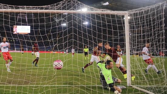 Roma 5 x 1 Carpi - Campeonato Italiano(Calcio) 2015/16