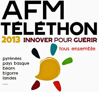 Téléthon des 8 clochers 2013 du pays de Nay