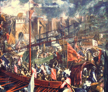 Crusaders Sack Constantinople