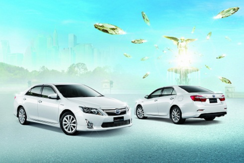 Toyota All New Camry 2012