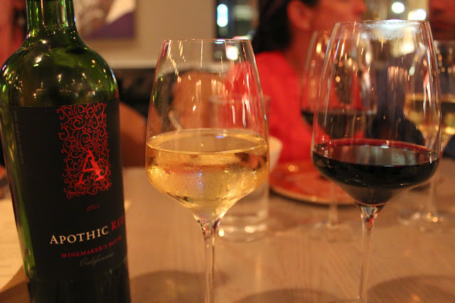 Apothic White and Apothic Red