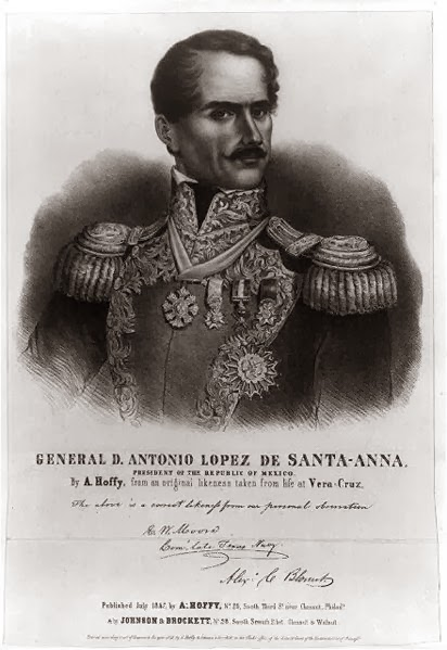 Sweethearts of the west what happened to general santa anna - Laminas antonio lopez ...