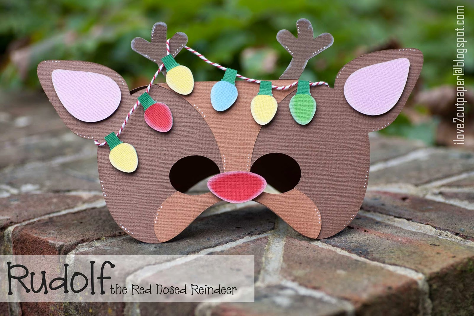 Rudolf and Christmas Lights cutting files