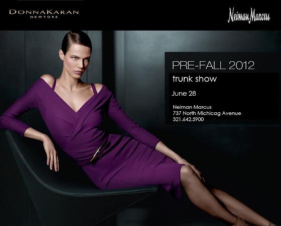 Donna Karan Neiman Marcus trunk show