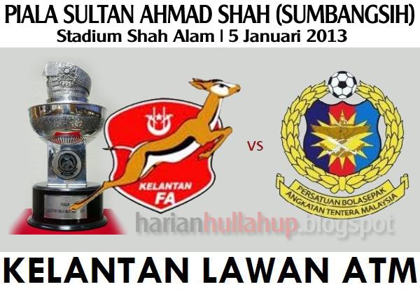Hulla Bola   Tiket Piala Sultan Ahmad Shah (Sumbangsih) 5 JANUARI 2013