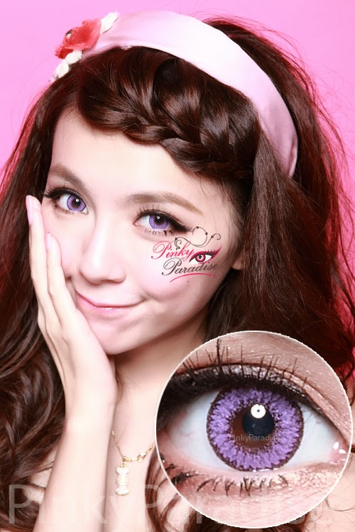 EOS Fairy Violet Circle Lenses (Colored Contacts)