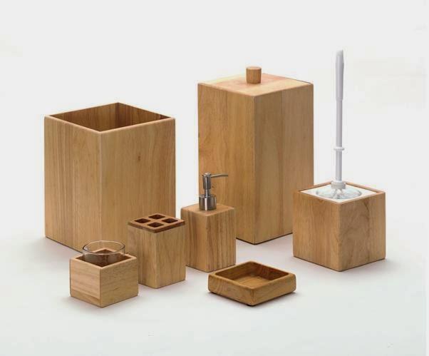 Nowoczesne łazienki Drewno W łazience