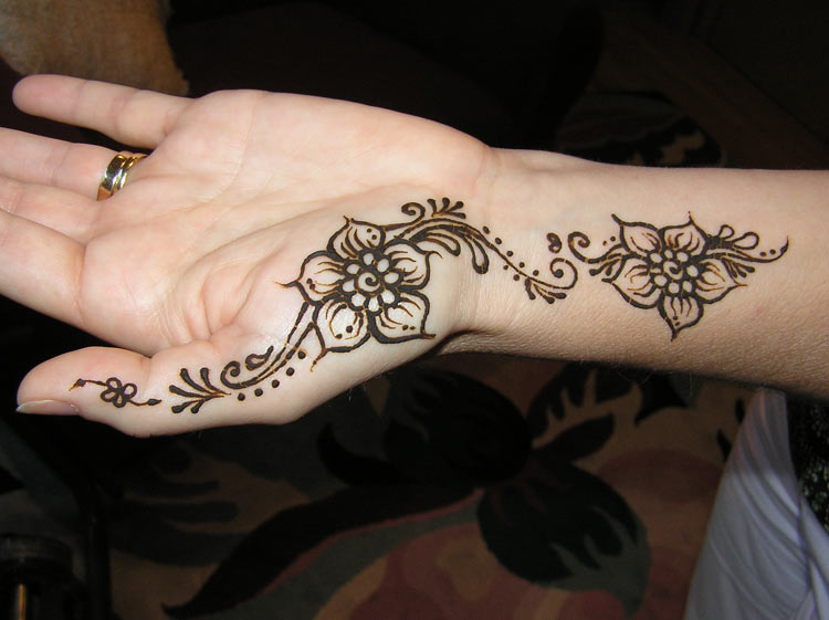 marriage henna designs marriage henna designs marriage henna designs    Easy Henna Hand Tattoos