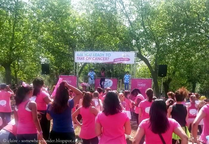 Race for Life 2013 - Hampstead Heath