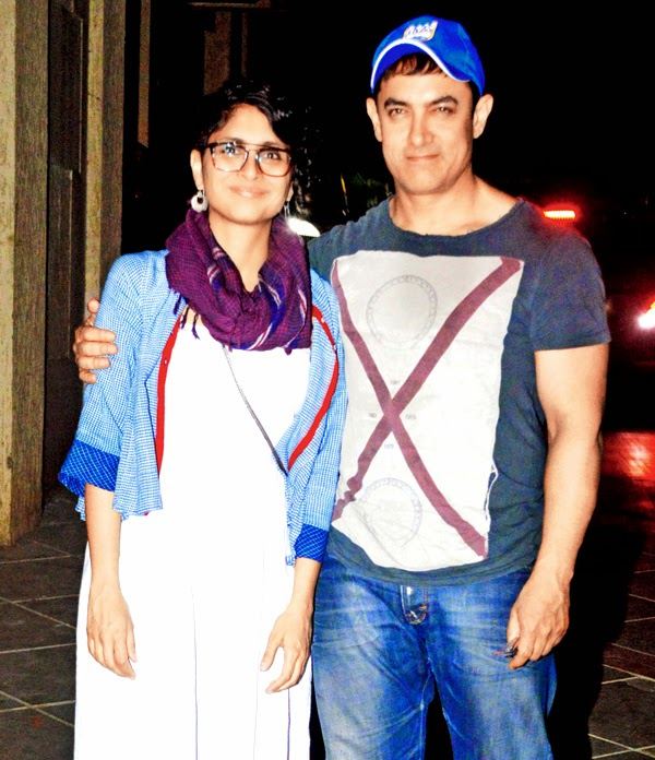 Amir khan with kiran rao