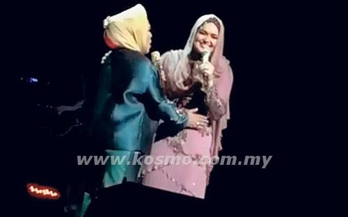 Kandungan Datuk Siti Nurhaliza Gugur