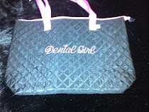 Dental Girl Monogrammed Tote Bage