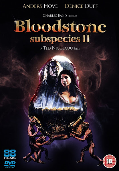 Poster of Bloodstone Subspecies II (1993) 720p Hindi BRRip Dual Audio