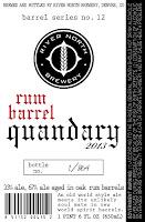 Rum Barrel Quandary 2013