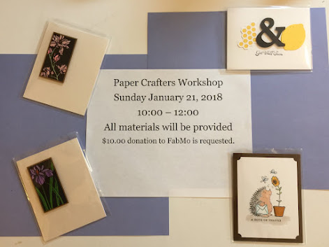 Paper Crafters - January 2018