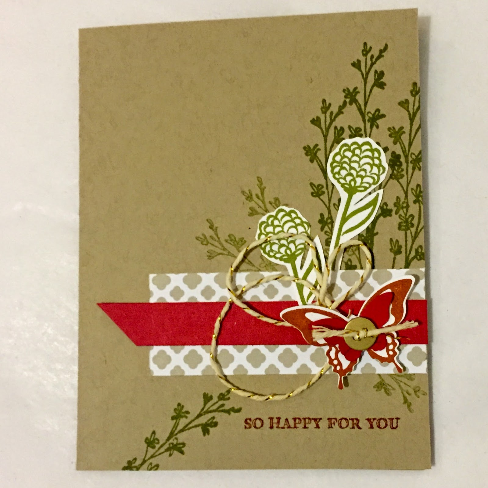 MidnightCrafting.com Stampin Up Sale-A-Bration 2015 Natures Celebration Simply Wonderful flower spring butterfly
