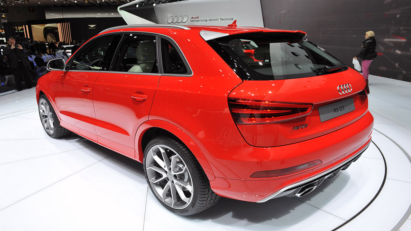 geneva 2013 audi q3 rs one of the fastest compact. Black Bedroom Furniture Sets. Home Design Ideas
