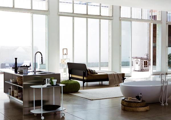 Archi love il loft for Arredare loft open space