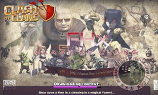 Game COC Mod FHx V6 Apk Terbaru Private Server Indonesia Gratis
