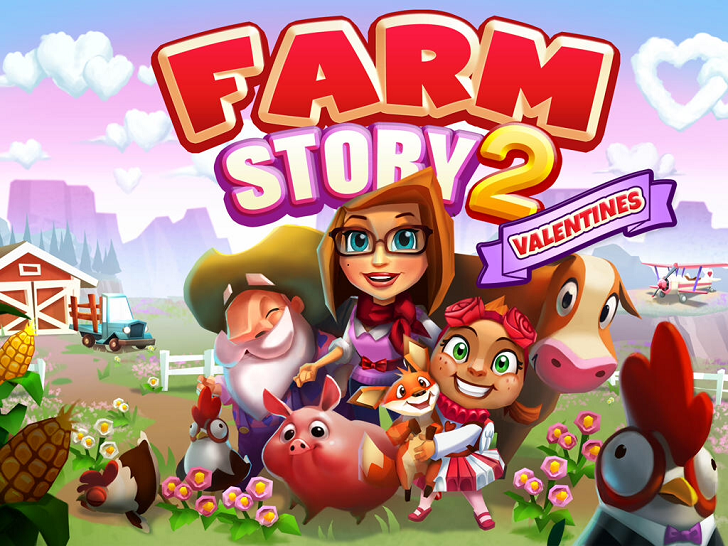 Farm Story 2: Valentines Main Game App
