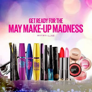 Maybelline May Makeup Madness Sale, may 2015 sale events, maybelline cosmetics sale, maybelline make-up madness sale 2015, maybelline ph sale
