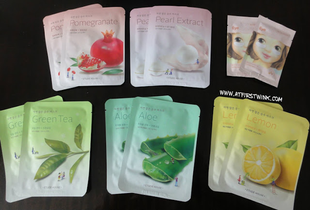 Etude House sheet masks deal
