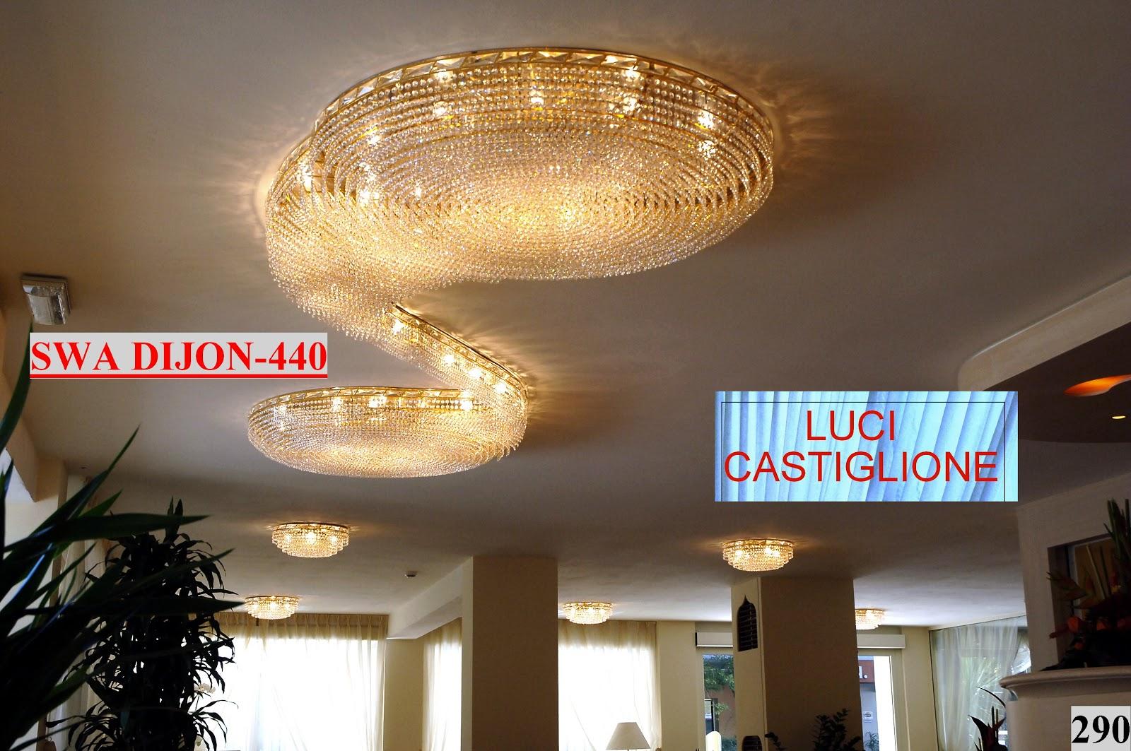 Lucicastiglione fabbrica lampadari: Lampadari per Alberghi