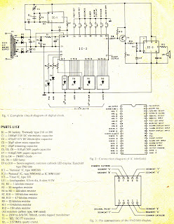 circuit wiring solution digital clock circuit diagram rh circuitane blogspot com 60Hz Digital Clock Circuit Components Digital Clock