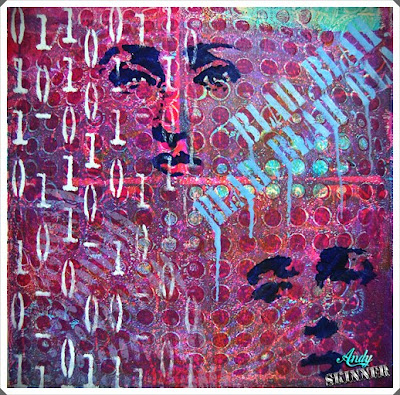 Gelli Print Andy Skinner Decoart Traditions