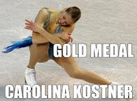 carolina kostner - gold medal