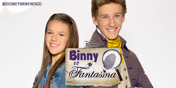 Disney Channel Brasil debut 'Binny y el fantasma' pronto!
