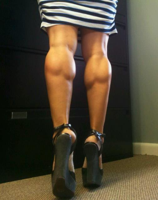 Muscular Calves Women 42