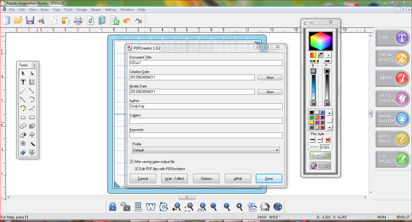 how to change a file to pdf format